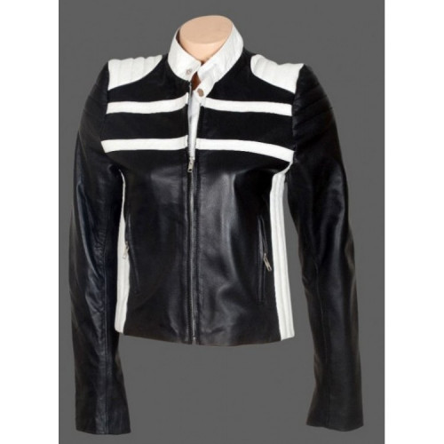Blonde Ambition Jessica Simpson (Katie) Leather Jacket