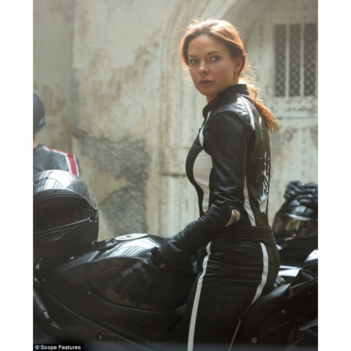 Mission Impossible 5 Rebecca Ferguson Ilsa Biker Jacket