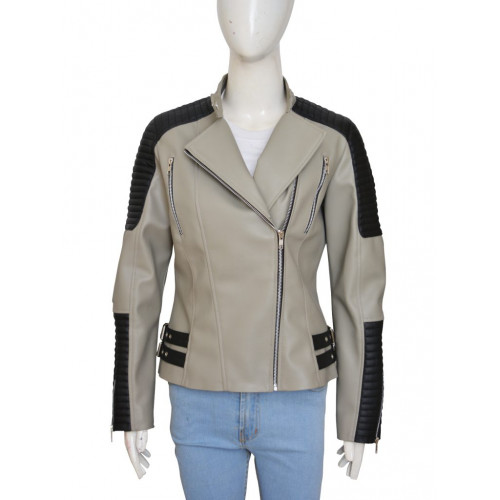 The Walking Dead Rosita Espinosa Grey Jacket