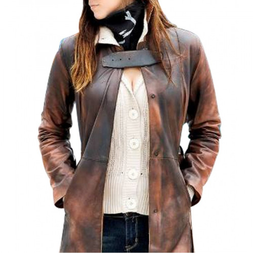 Watch Dogs Aiden Pearce Trench Coat For Women