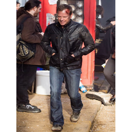 Jack Bauer 24 Live Another Days Leather Jacket