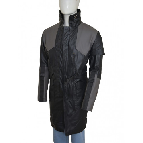 Deus Ex Mankind Divided Adam Jensen Black Coat