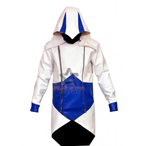 Assassin's Creed Conner Kenway Cosplay Hoodie Jacket
