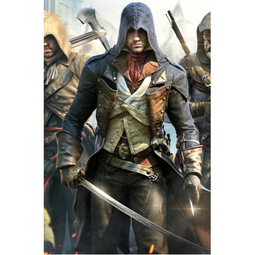 Assassin's Creed Unity Leather Coat