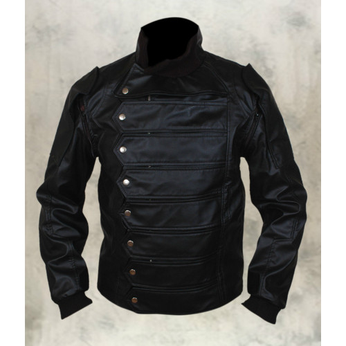 New Captain America The Winter Soldier Bucky Barnes Jacket