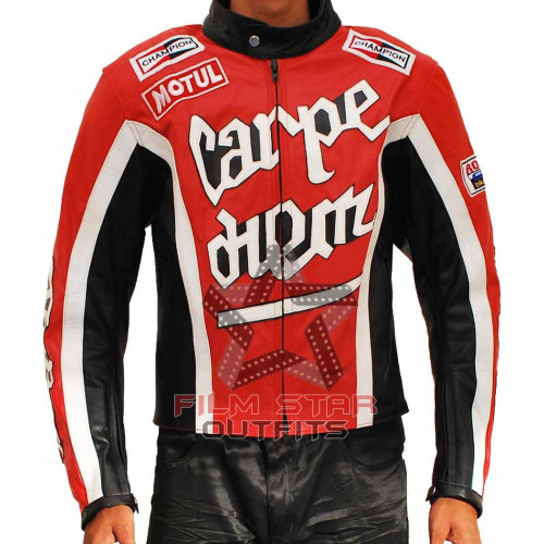 Diem Torque Carpe (Cary Ford) Biker Leather Jacket