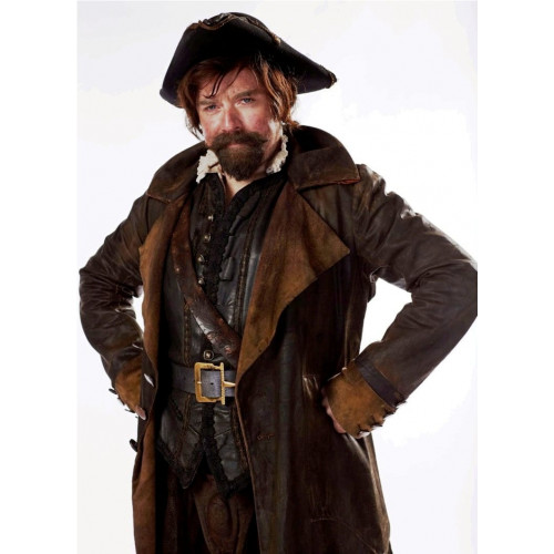 DOCTOR WHO SAM SWIFT LEATHER COAT