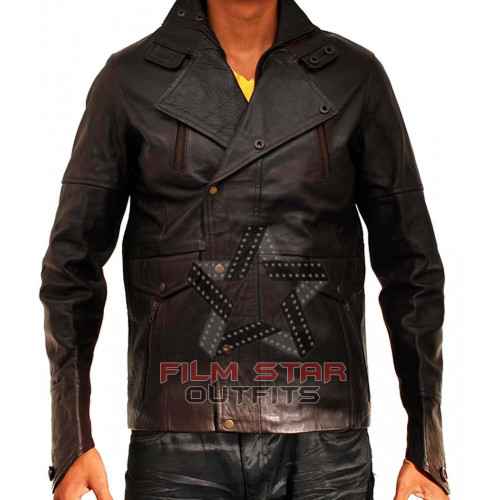 From Paris With Love Leather Jacket