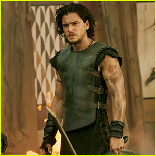 Kit Harington Pompeii (Milo) Black Vest