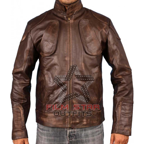 Lockout Guy Pearce (Snow) Leather Jacket