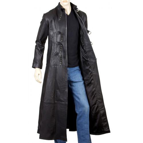 Goth Full Length Mens Coat Filmstaroutfits Com