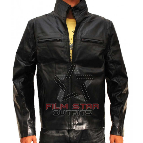 The Other Guys Mark Wahlberg Leather Jacket