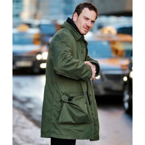 The Snowman Michael Fassbender Cotton jacket
