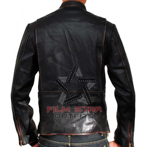 Tron legacy leather jacket