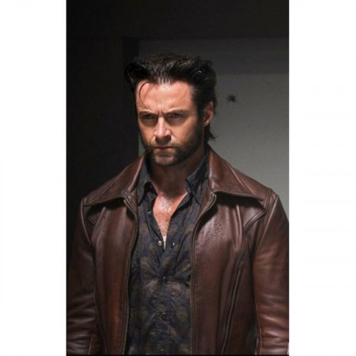 X-Men Days of Future Past Wolverine Logan Motorcycle Jacket