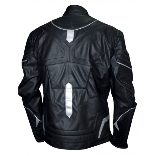 Black Panther Captain America Civil War Leather Jacket - Filmstaroutfits.com
