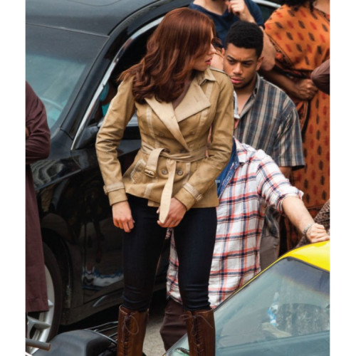 Scarlett Johansson Captain America Jacket