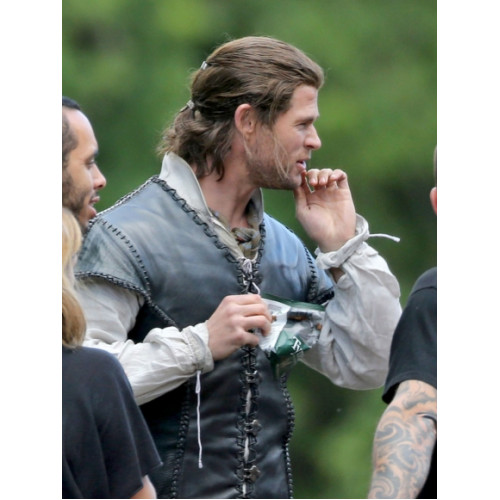 Chris Hemsworth The Huntsman Leather Vest