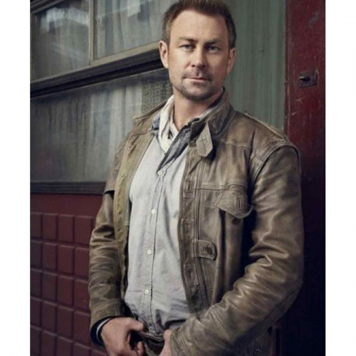 Defiance Grant Bowler (Chief Lawkeeper Jeb Nolan) Leather Jacket