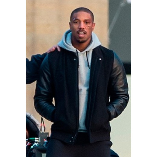 Adonis Creed Michael B Jordon Battle Jacket Film Star