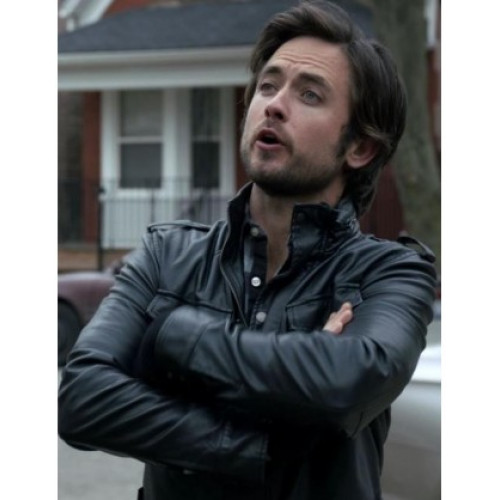 Shameless Justin Chatwin Steve Leather Jacket
