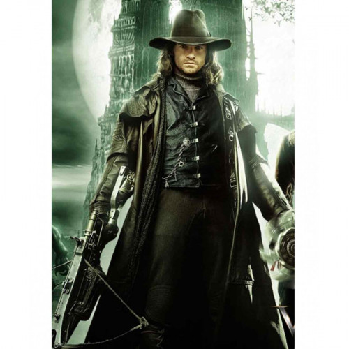 Hugh Jackman Van Helsing Black Leather Vest