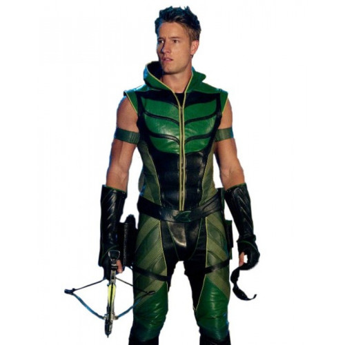 Justice League Smallville Arrow Hood Jacket