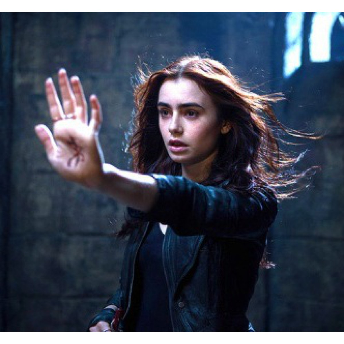 The Mortal Instruments Clary Fray Lily Collins Jacket
