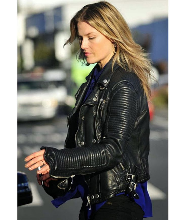 Ali Larter Prorsum Quilted Classic Motorcycle Jacket