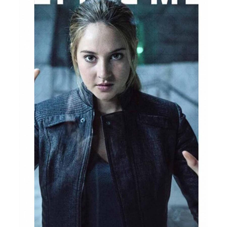 Womens Leather Bomber Jacket