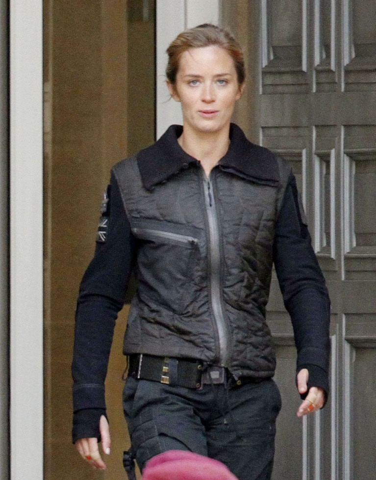 Edge Of Tomorrow Emily Blunt Leather Jacket ...