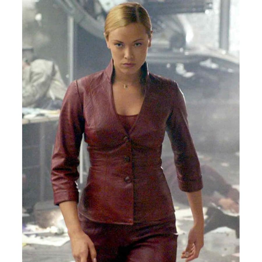 Kristanna Loken Terminator 3 Leather Jacket
