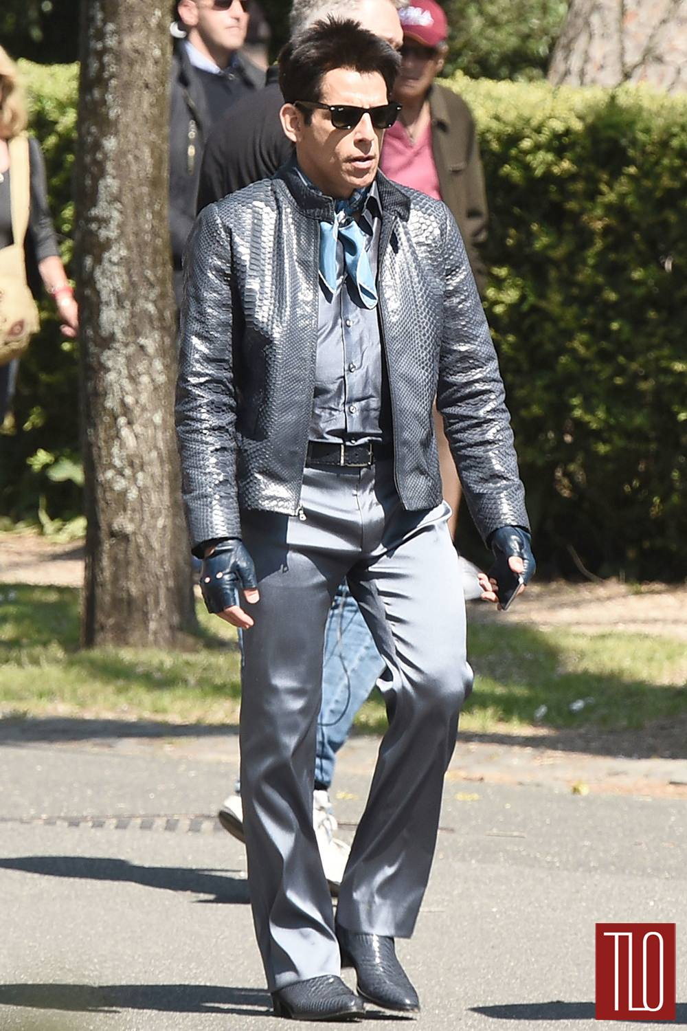 Derek Zoolander 2 Ben Stiller Black Leather Jacket ...