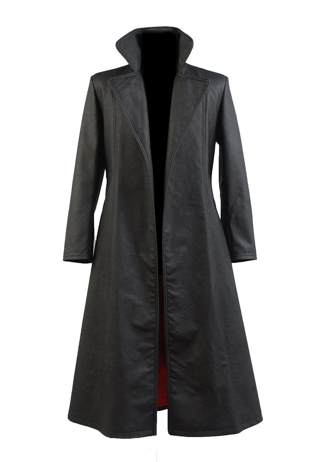 Wesley Snipes Blade Leather Trench Coat - Filmstaroutfits.com