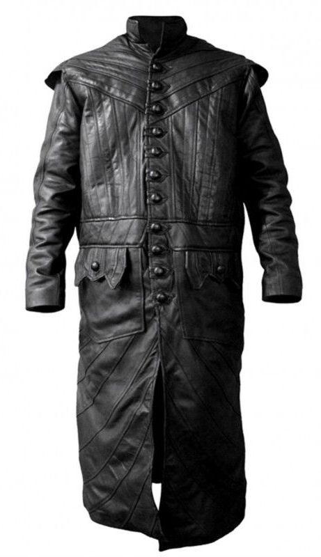 15ad614a8c1d Toby Stephens Black Sails S3 Flint Leather Coat - Filmstaroutfits.com